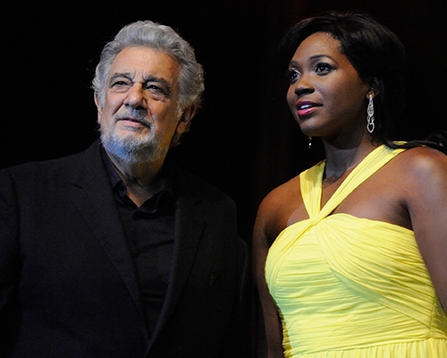 Plácido Domingo, Angel Blue 2016
